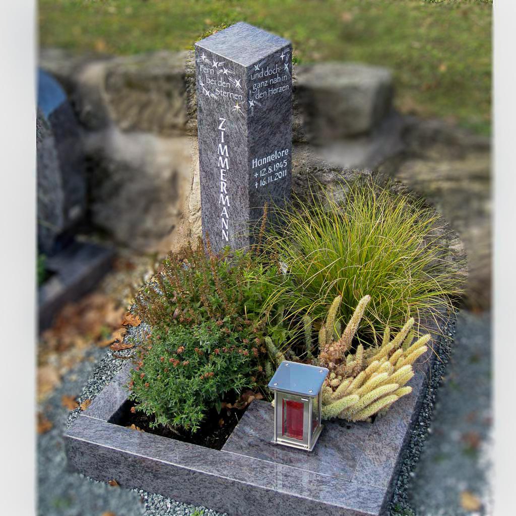 Grabanlage_Steinmetzarbeiten Igl Langenzenn